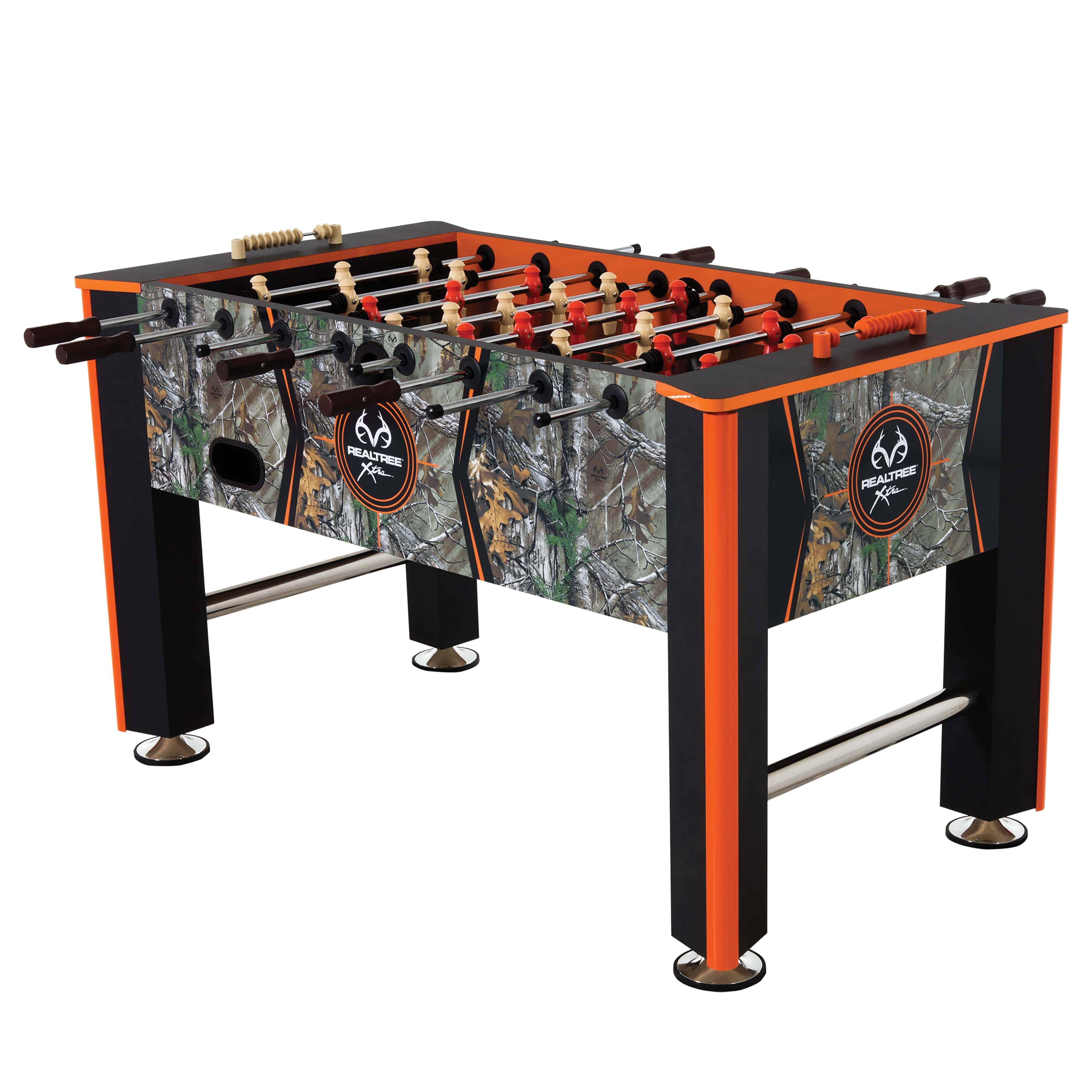 Foosball Tables. Triumph Real Tree Air Hockey